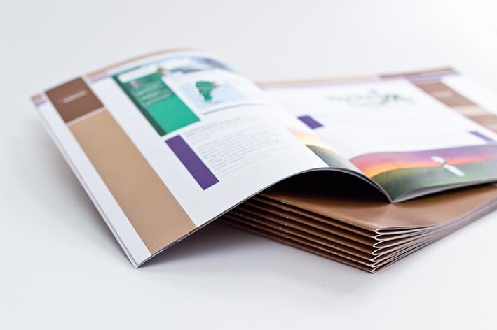 Tryckt broschyr, av tryckeri i Stockholm